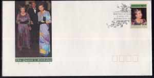Australia 1210 Queen Elizabeth U/A FDC