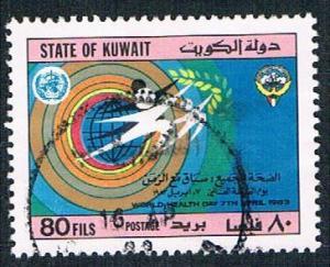 Kuwait 917 Used World Health Day (BP2211)