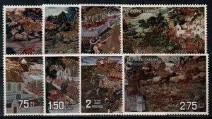 Thailand Scott 666-73 Mint NH [TE244]
