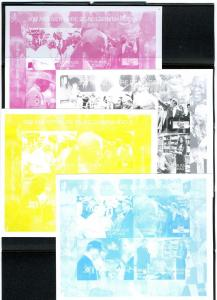 Pope JP II,Mandela 90e Anniversary (4)Color proofs