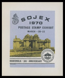 SOJEX 1970 (35th) Stamp Show - MINT, Never Hinged, F-VF or Better