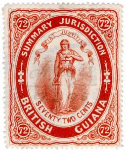 (I.B) British Guiana Revenue : Summary Jurisdiction 72c (1883)