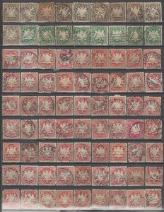 COLLECTION LOT OF #1205 BAVARIA 81 STAMPS 1876+ CLEARANCE CV + $52