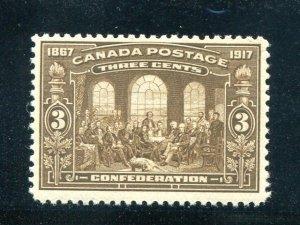Canada #135  Mint  VF NH