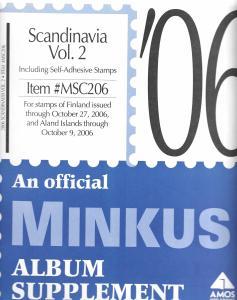 Minkus Scandinavia Volume 2 MSC206 Supplement 2006