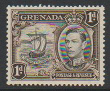 Grenada  GVI SG 154a perf 13½ x 12½  Light mounted mint