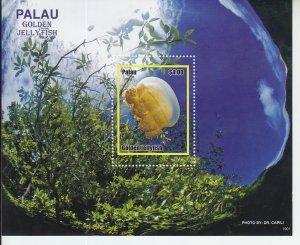 2019 Palau Golden Jellyfish SS (Scott NA) MNH
