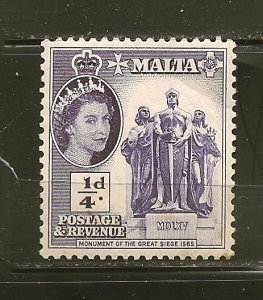 Malta 246 Monument Mint Hinged