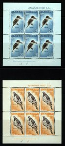 NEW ZEALAND 1960 Health Stamps MiniSheets SG MS804b MNH