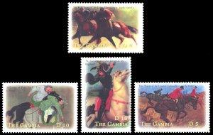 Gambia 2000 Scott #2361-2364 Mint Never Hinged