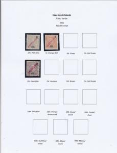 Cape Verde Islands Stamps Ref 14987