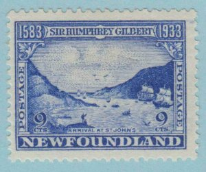 NEWFOUNDLAND 219  MINT HINGED OG *  NO FAULTS VERY  FINE !