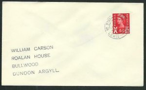 GB SCOTLAND 1971 cover SHAWBOST / ISLE OF LEWIS  cds.......................66717
