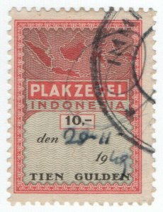 (I.B) Indonesia Revenue : General Duty 10G (Plakzegel) unlisted