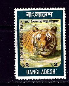 Bangladesh 71 Used 1974 Tiger