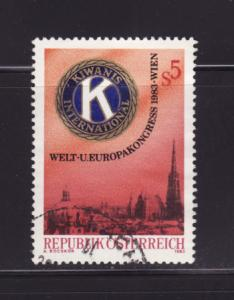 Austria 1246 Set U Kawanis International