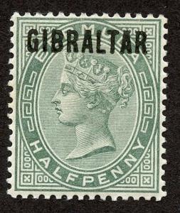 Gibraltar - Sc #1, MHR.  2019 SCV $24.00