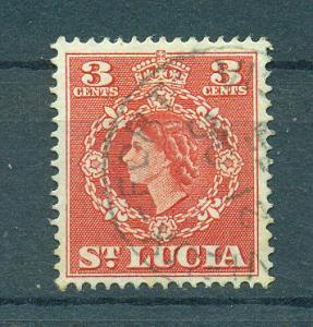 St. Lucia sc# 159 (2) used cat value $.25