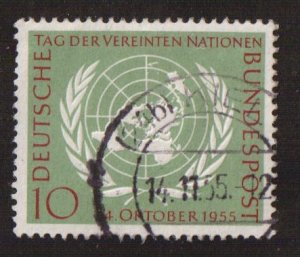 Germany  #736  used  1955  United Nations Day