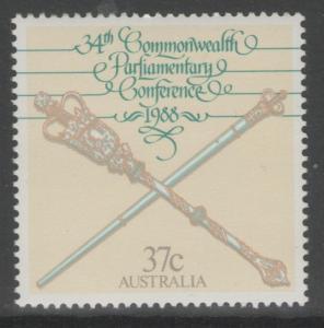 AUSTRALIA SG1157 1988 PARLIAMENTARY CONFERENCE MNH