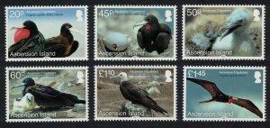 Ascension Frigatebird 'Fregata aquila' 6v 2013 MNH SG#1176-1181 MI#1219-1224