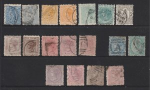 New Zealand a selection of used later QV unsorted