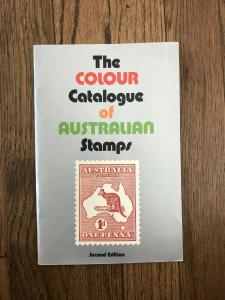 THE COLOUR CATALOGUE of AUSTRALIAN STAMPS 36 pgs Second Edition