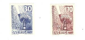 Sweden, 529-30, Bessemer Converter Singles, MNH