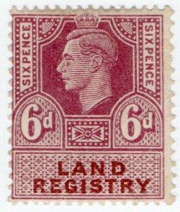 (I.B) George VI Revenue : Land Registry 6d
