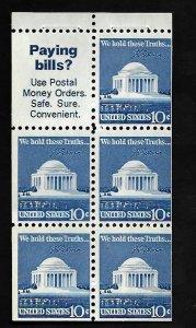 United States 1973 - MNH - Booklet - Scott #1510B