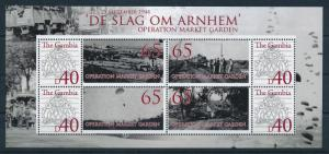 [75382] Gambia 2008 World War II Operation Market Garden Sheet MNH