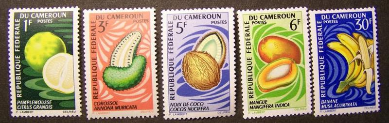 Cameroun Stamps all MLH