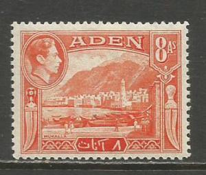 Aden   #23  MLH  (1939)  c.v. $2.25