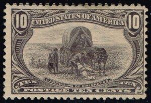US #290 Hardships of Emigration; Unused NG (1Stars)