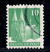 Germany Deutsche Post Scott # 641, used, variation