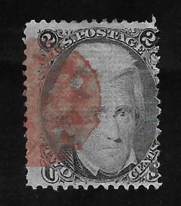 U.S. Vintage Stamps SC#87 F Used CV$190