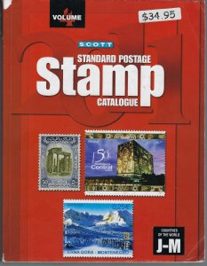 2011 SCOTT STANDARD POSTAGE STAMP CATALOGUE-VOLUME 4 (COUNTRIES J-M)- USED (