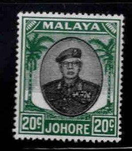 Malaya Jahore Scott 141 MH*
