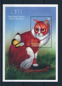 [31630] Grenada Grenadines 2000 Animals Cat British Shorthair MNH  Sheet