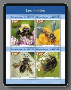 Stamps of NIGER 2021- BEES