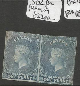 Ceylon SG 2 Pair Full MOG Oxidized (9cmi)