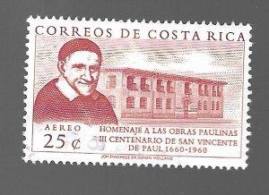 Costa Rica 1960 - U - Scott #C299