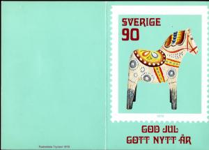 SWEDEN #1267 PO PRESENTATION FOLDER BIN $2.50