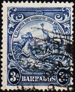 Barbados. 1938 3d S.G.252c Fine Used
