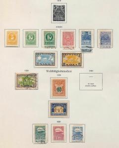 Estonia France Finland 1870s/1920s M&U Collection(100+Items) (DD653
