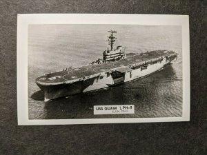 USS GUAM LPH-9 Original 3 X 5 Naval Photo