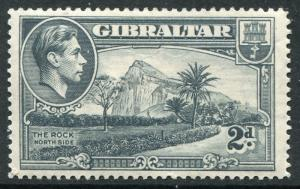 GIBRALTAR - # 110a F-VF Light Hinged Issue - PERF 14 ROCK OF GIBRALTAR - S5594
