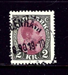 Denmark 129 Used 1925 issue