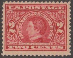 U.S. Scott #370 Alaska-Yukon-Pacific Seward Stamp - Mint Single - IND