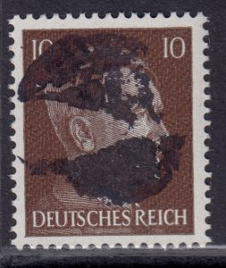 Germany Soviet Zone SBZ - LOCAL BLOSENBERG 10Pf HITLER head - Expertized Richter